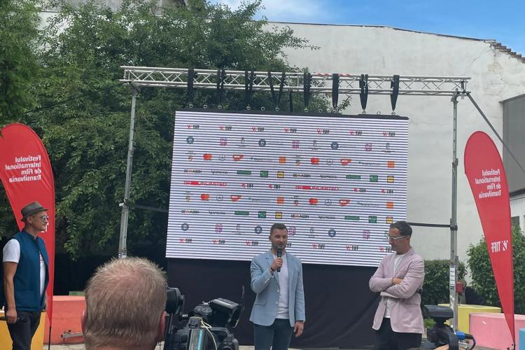 TIFF 2021, în Parcul Poligon din Florești. Bogdan Pivariu: Suntem 70.000 de oameni, a doua comunitate de interes, pentru festival - VIDEO