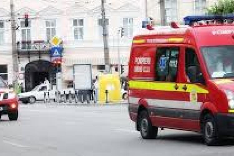 Cluj: Accident pe Aleea Stadionului. Unul dintre șoferi a fost rănit