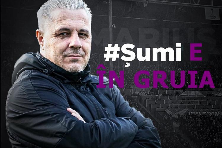 Marius Șumudică antrenează pe CFR Cluj! E oficial