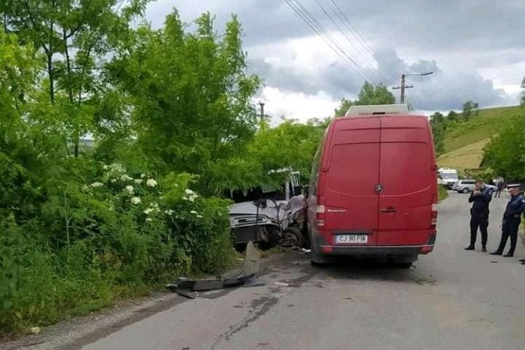 Cluj: Mai multe persoane au fost rănite, în urma unui accident rutier - FOTO