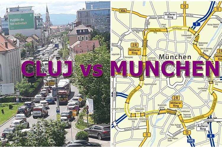 """Boc, despre îngustarea străzilor: """"În Cluj este ca la Munchen"""". A uitat de centurile din capitala Bavariei - FOTO"""