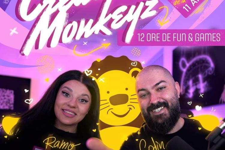 Creative Monkeyz fac stream caritabil și adună bani pentru asociația Little People - VIDEO