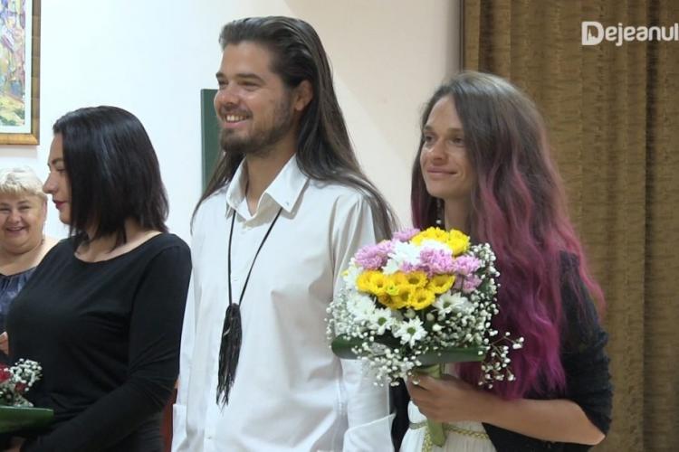 Happy End în povestea de dragoste a anului! Americanul expulzat de la Cluj a revenit și a luat-o de nevastă pe aleasa din Dej - FOTO