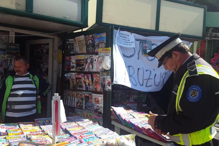 Primăria Cluj-Napoca ridică chioșcurile de ziare din oraș și nu oferă soluții pentru presa scrisă