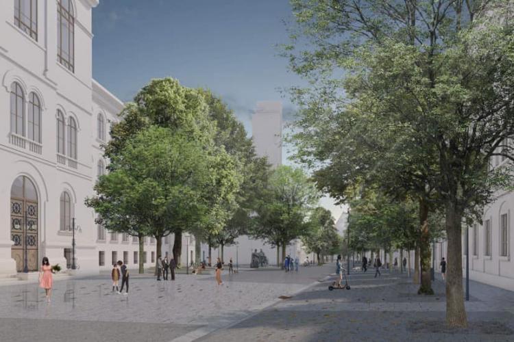 Strada Kogălniceanu, modernizată cu o căruță de bani. Cine a câștigat licitația și ce se va face acolo