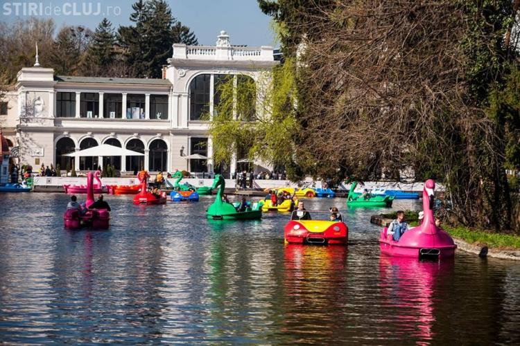 Bărcile de pe Lacul Chios vor fi repuse în funcțiune - FOTO
