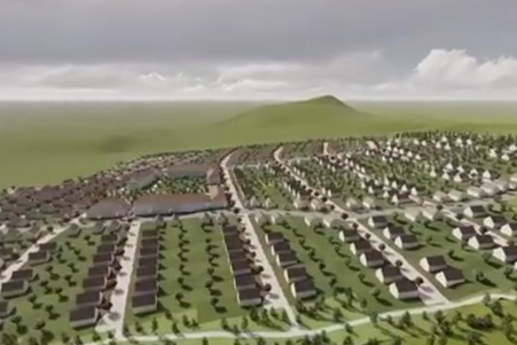 Comuna Chinteni a elaborat PUZ pe 32 de hectare: Nu construim haotic! Nu construim blocuri între case! - VIDEO