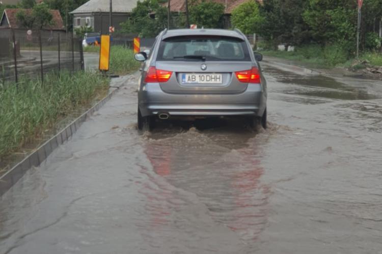 Alerta de inundații in Cojocna, Feleacu, Petreștii de Jos, Ciurila, Tureni și Aiton