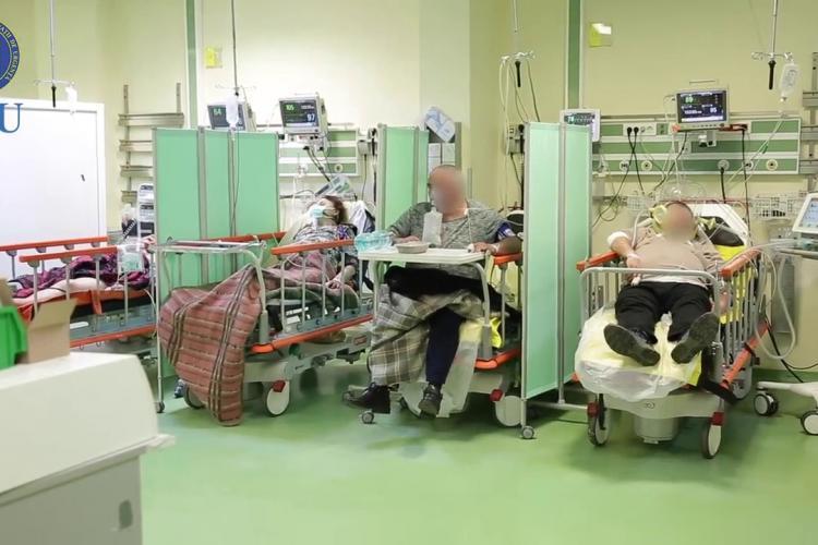 COVID Cluj: Mai sunt 21 de pacienți internați la Terapie Intensivă. Rata pe județ a ajuns la 0.13 la mie