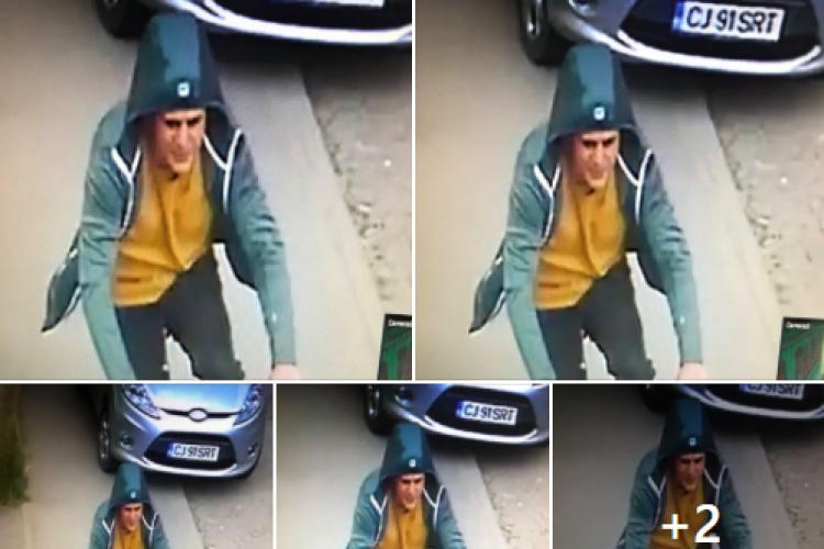 O clujeancă cere ajutor: Acest bărbat mi-a furat bicicleta - VIDEO și FOTO