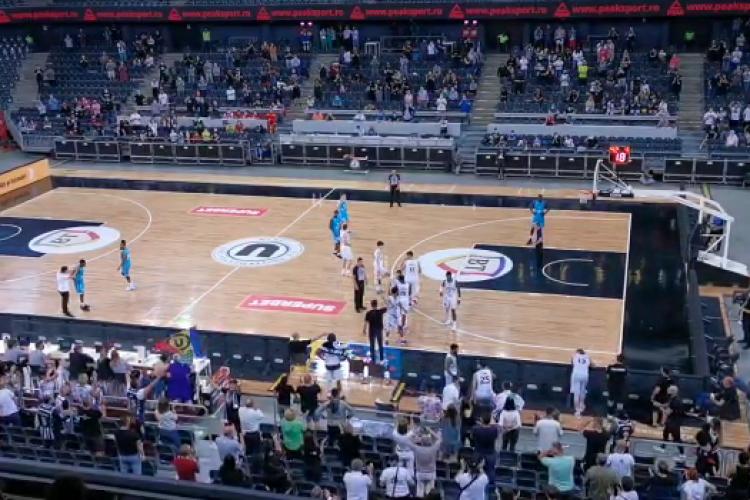 U BT Cluj, a doua finalistă a Ligii Naţionale de baschet masculin - VIDEO
