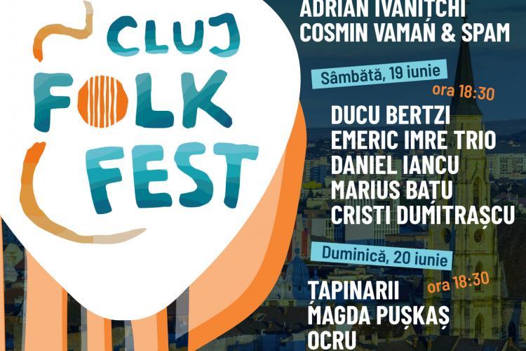 Trei zile magice pe scena Casei de Cultură a Studenților, la prima ediție Cluj Folk Fest