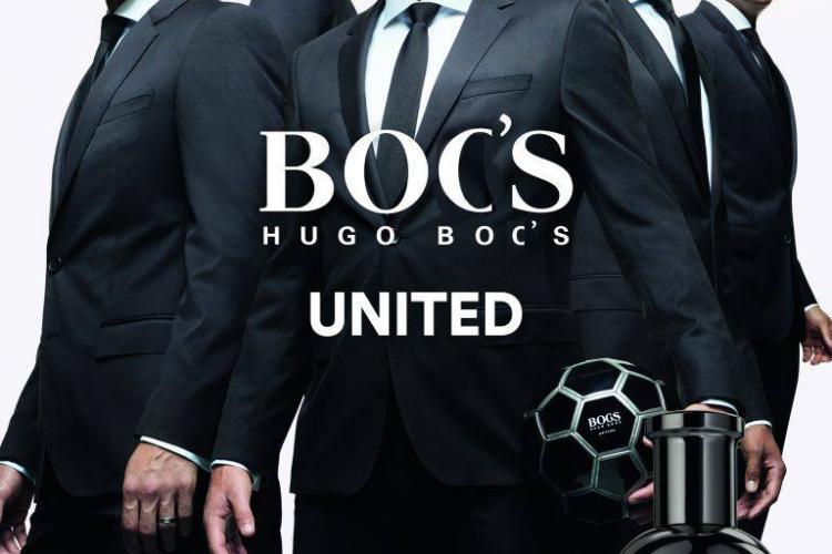 A apărut brandul HUGO BOC'S, după ce Boc i-a salvat postul directorului de la Polivalentă, mare amator de Hugo BOSS din bani publici - FOTO
