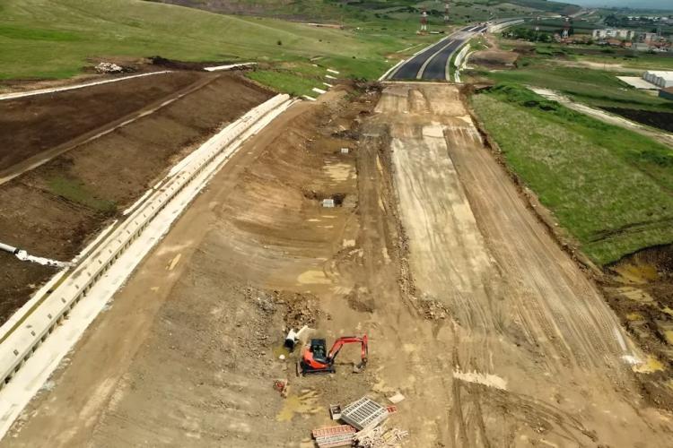 Nu mai este asfalt pentru autostrada Sibiu - Cluj Napoca. Proiectul este pus în pericol
