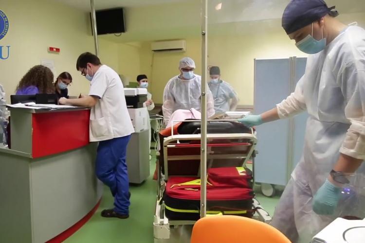 Doar 9 persoane infectate cu COVID-19, în ultimele 24 de ore, la Cluj. Numărul pacienților de la ATI, în scădere