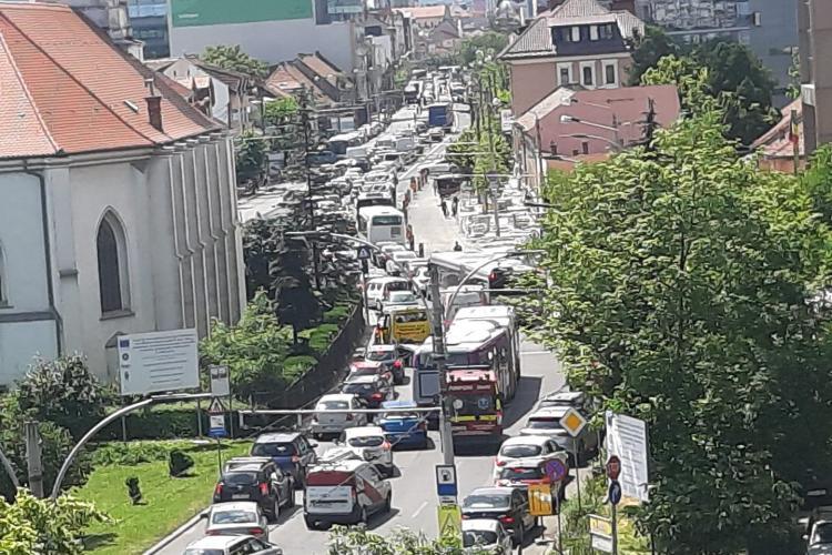 Așa va arăta B-dul 21 Decembrie 1989 de acum încolo? Boc: Clujul nu mai e orașul mașinilor! - FOTO