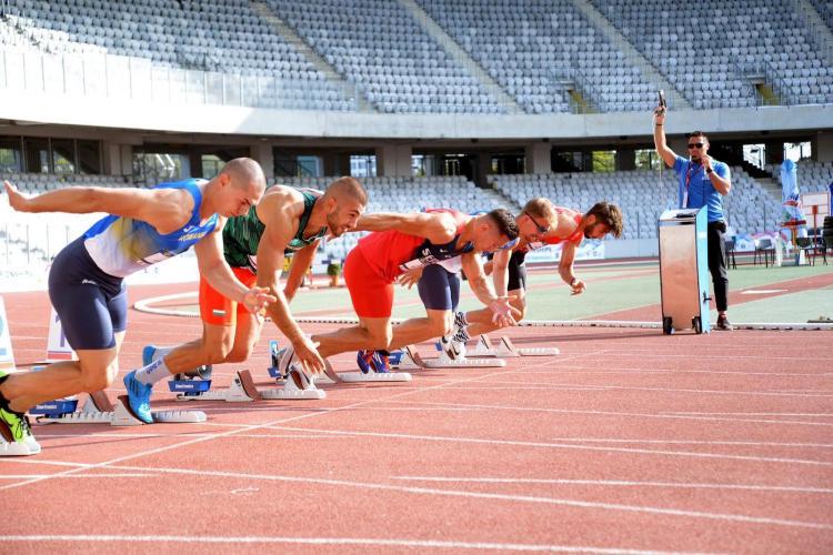 Campionatul Național de Atletism are loc pe Cluj Arena