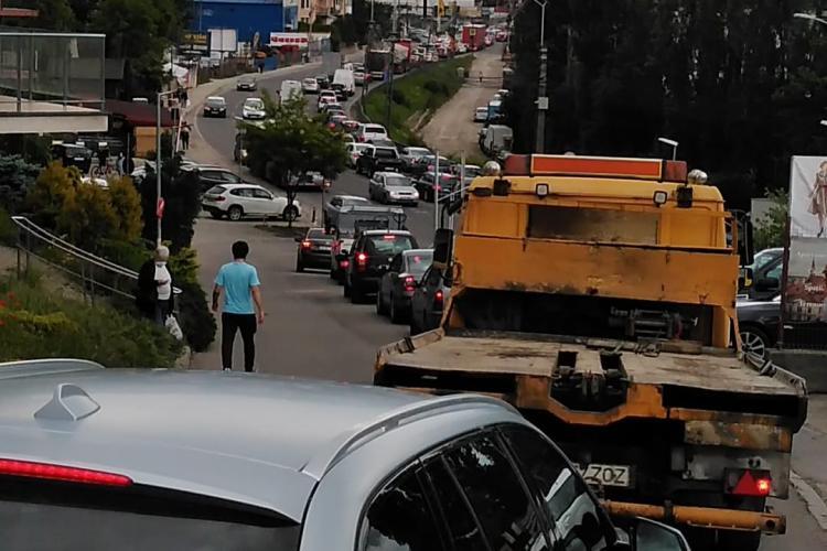 Să mergi din Cluj-Napoca în Baciu durează mai mult decât dacă vii din Londra la Cluj - FOTO