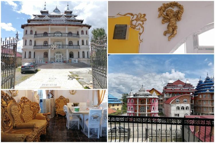 Fostul deputat Adrian Dohotaru, cere ca palatele romilor de la Huedin să devină brand al Clujului - FOTO