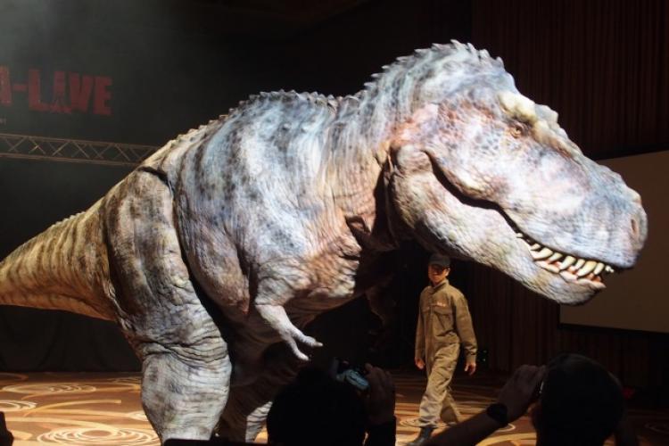 Expoziție cu dinozauri la Cluj-Napoca până în octombrie 2021