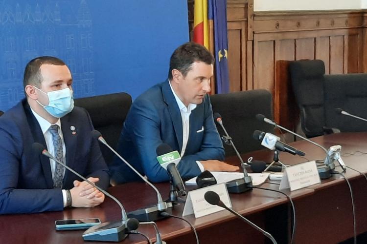 """Ministrul Mediului îl laudă pe Boc pentru """"înverzirea"""" Clujului: """"Văd această mișcare curajoasă și lăudabilă"""""""