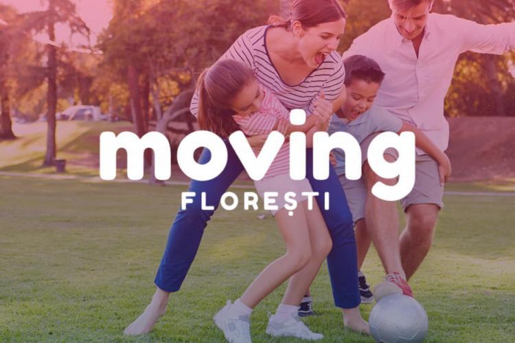 MOVING FLOREȘTI - Eveniment sportiv în Florești, la final de iunie - FOTO