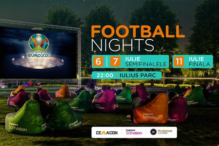 Urmărește spectacolul de la EURO 2020 și filmele de la Movie Nights, în Iulius Parc!