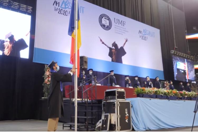 Studenții UMF Cluj nevaccinați nu au voie la ceremonia de absolvire