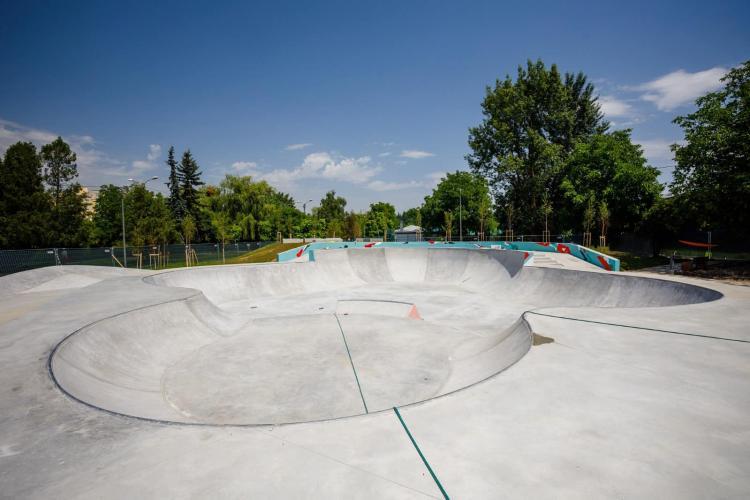 Skatepark Rozelor de nivel european, aproape de finalizare - FOTO