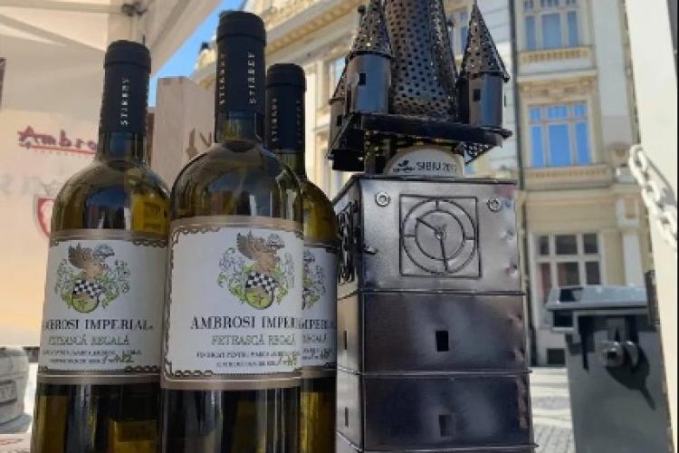 Cea mai scumpă sticlă de vin din România s-a adjudecat în Cluj-Napoca pentru 1.000 de EURO