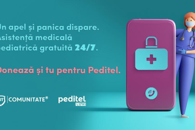Banca Transilvania dublează donațiile făcute de români către PEDITEL în luna iulie