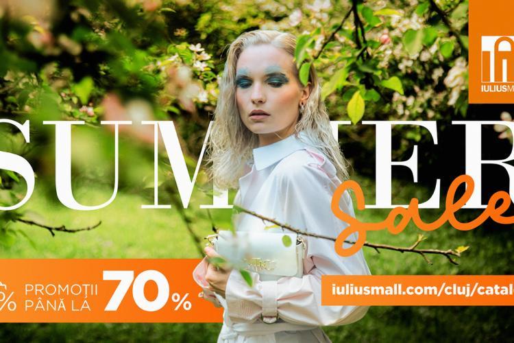 Reduceri de vară de până la 70% la Summer Sale Iulius Mall Cluj!
