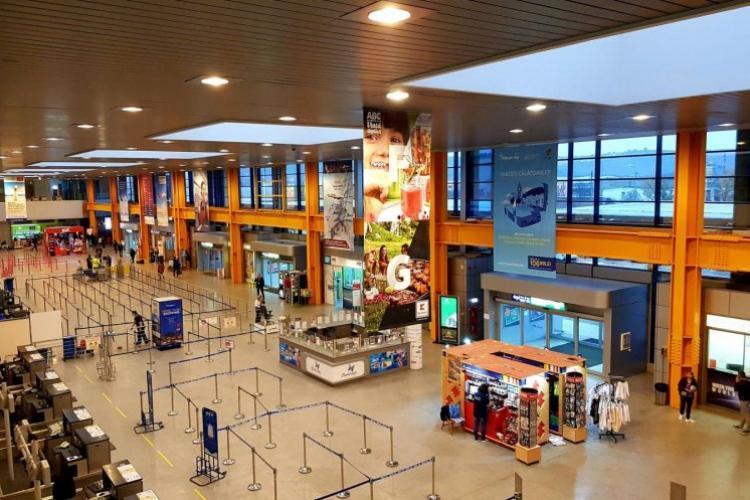 Aeroportul Cluj va reveni la traficul din 2019, în 4 - 5 ani