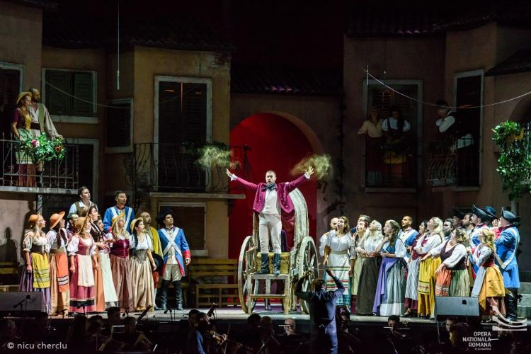 Festivalul Opera Aperta are loc la Cluj, în Sala Mare a Operei și în Piața Unirii