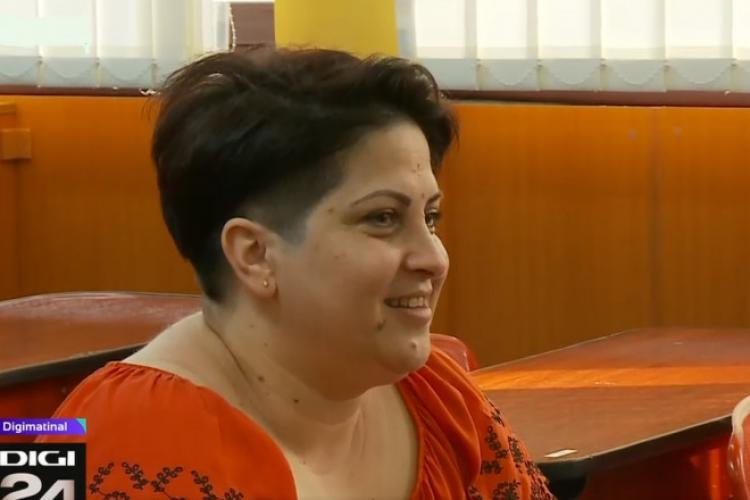 Femeia care și-a dat BAC-ul la 43 de ani, pentru a fi un exemplu pentru copiii săi. Acum vrea să se înscrie la Medicină