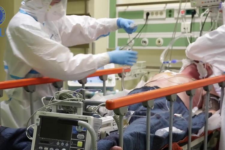 Cluj: Numărul pacienților internați la Cluj de COVID-19 a crescut din nou