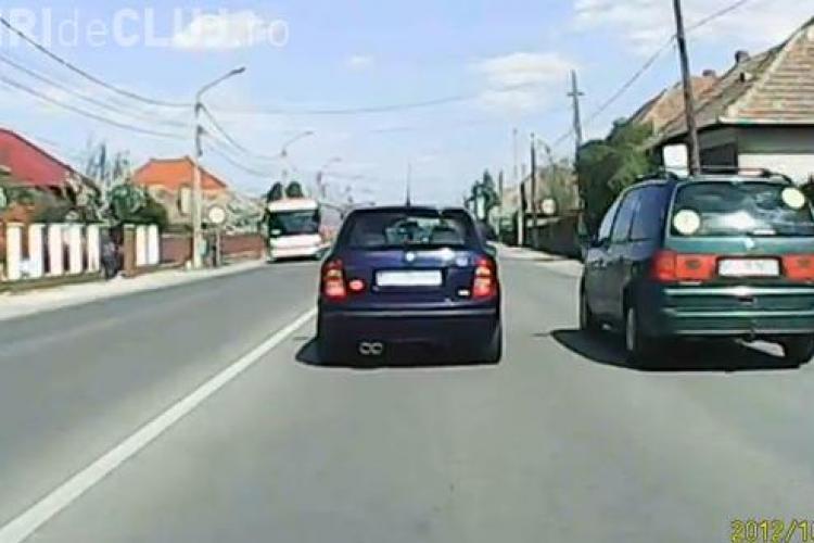 Șofer inconștient în Florești! Amendat pentru că circula pe acostamentul Drumului Național