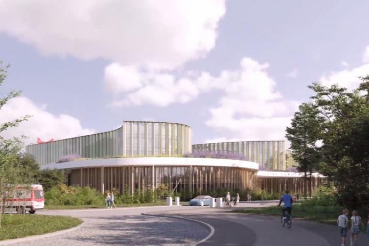 Proiectarea Spitalul de Copii din Borhanci din costă 6,5 milioane de euro. Când vor începe lucrările - FOTO