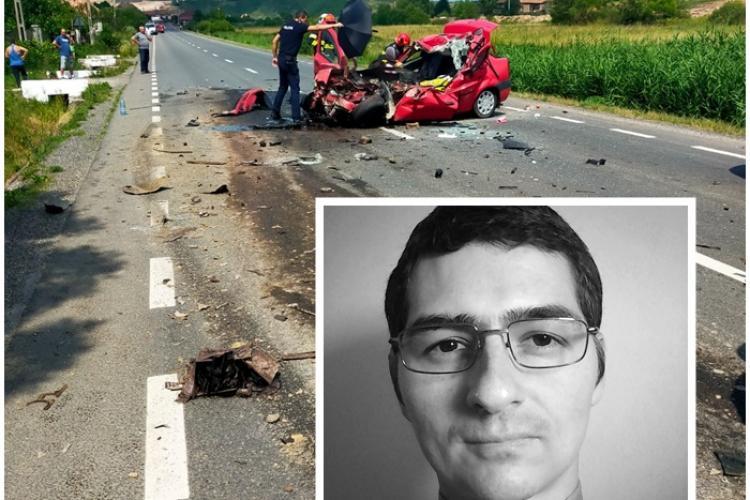 În accidentul de la Sânpaul, jud. Cluj, a murit bunul părinte Cristian Biru - FOTO