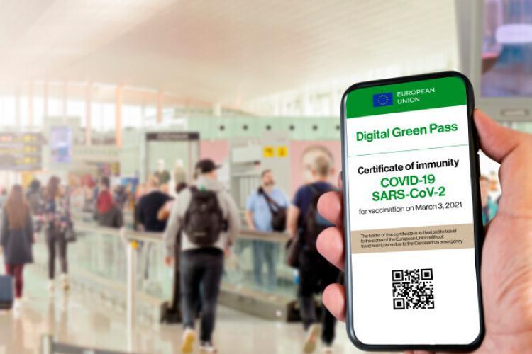 De unde vor putea oamenii să descarce certificatul verde COVID-19, începând cu 1 iulie