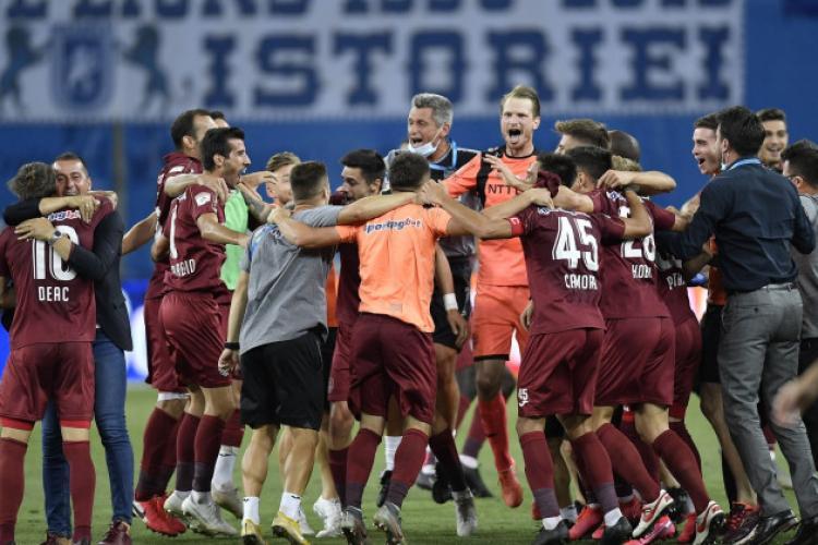 Tun financiar dat de CFR Cluj: 1,8 milioane de euro vor intra anual în conturile clubului!