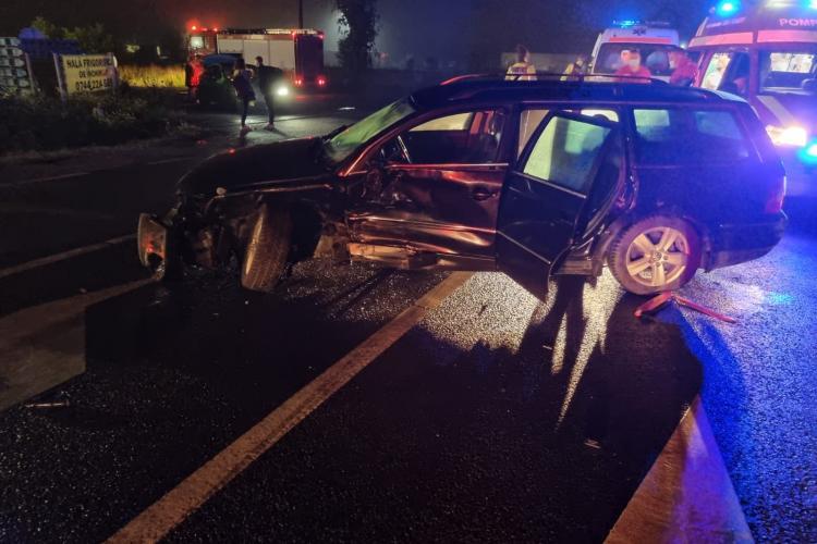 Accident rutier în Căpușu Mare. 3 copii au fost transportați la spital - FOTO