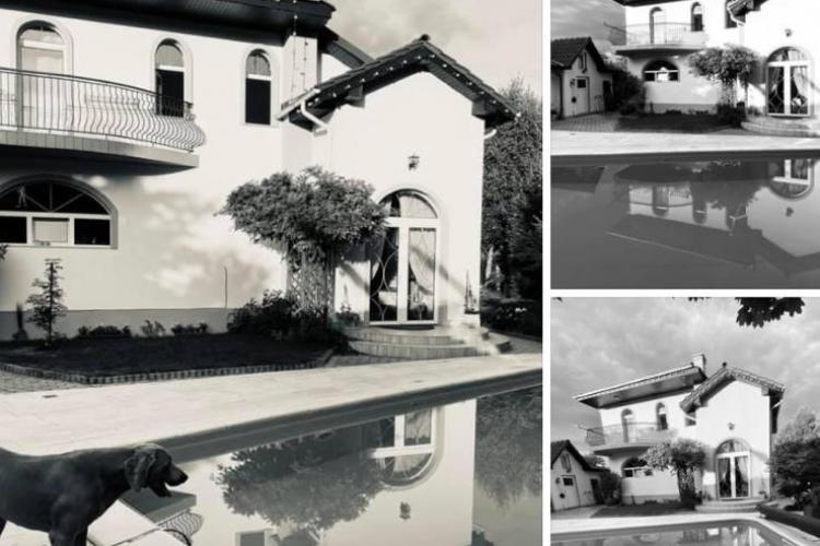 Compania de Apă a lăsat Dejul fără apă, dar vicepreședintele Consiliului Județean și-a umplut piscina - FOTO