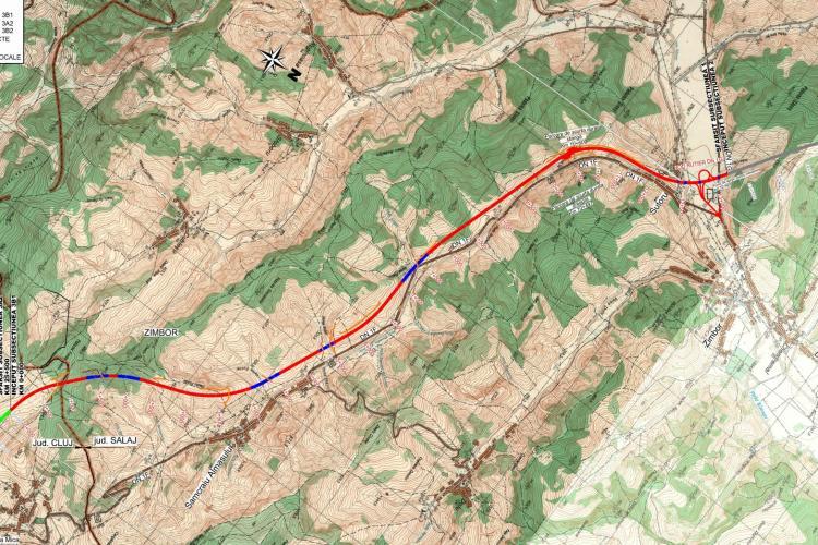 S-a emis autorizația de construire pentru Autostrada Transilvania, tronsonul dintre Mihăiești și Zimbor