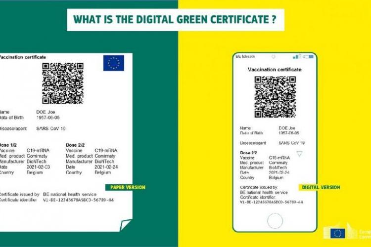 8 pași pentru obținerea certificatului digital COVID pentru călătoria în Europa