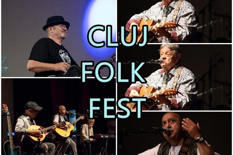 Prima ediție a Cluj Folk Fest a fost un succes real! 15 artiști au ridicat sala în picioare - FOTO