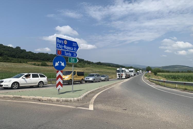 CNAIR vrea să limiteze traficul pe unele șosele, pe durata caniculei