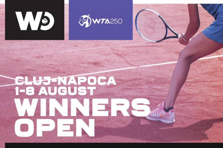 Winners Open 2021: Cât costă organizarea turneului de tenis WTA 250 de la Cluj