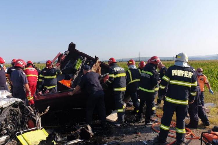 Accident cu nouă morți pe DN2. Accident teribil la Bacău