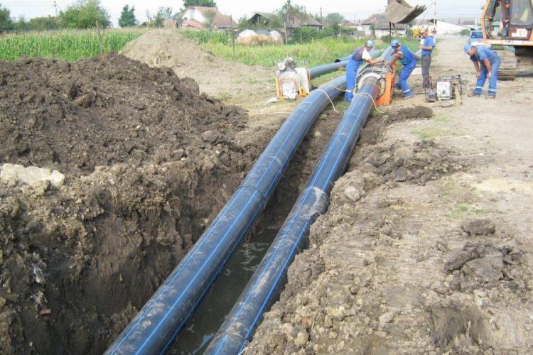 Se extinde rețeaua de apă din Cluj-Napoca, inclusiv în zonele nou construite